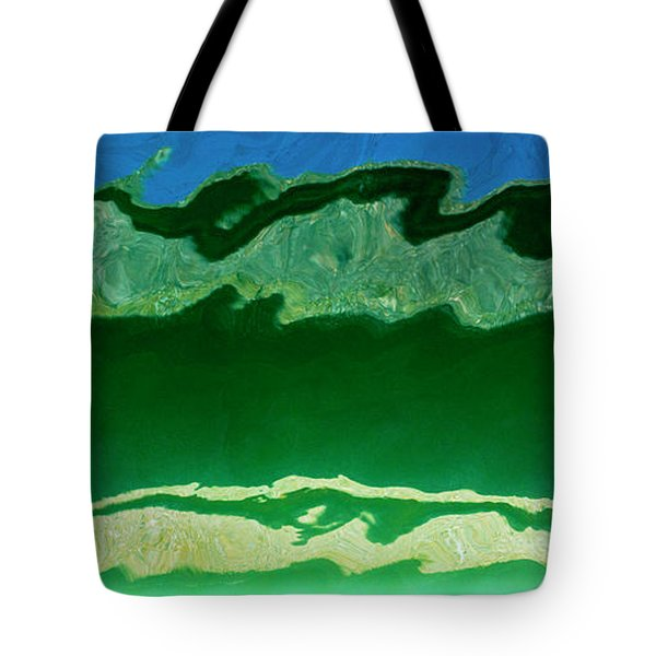 Tote Bag featuring the photograph The Deep End by Wendy Wilton
