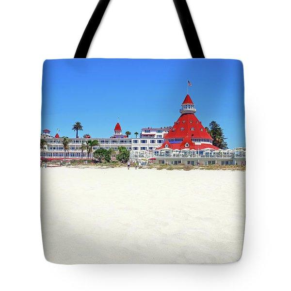 The Del Coronado Hotel San Diego California Tote Bag