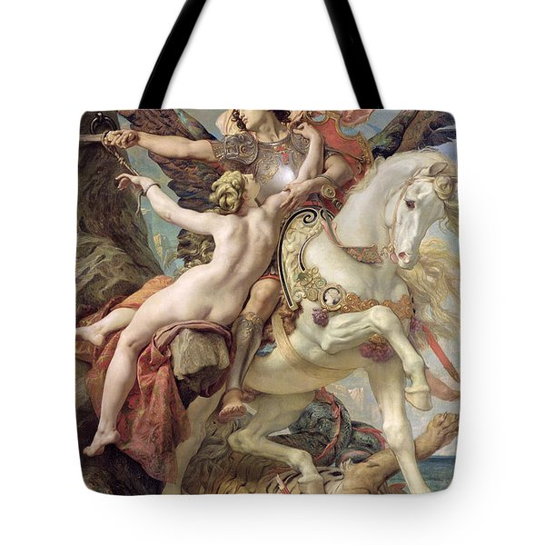 The Deliverance Tote Bag by Joseph Paul Blanc