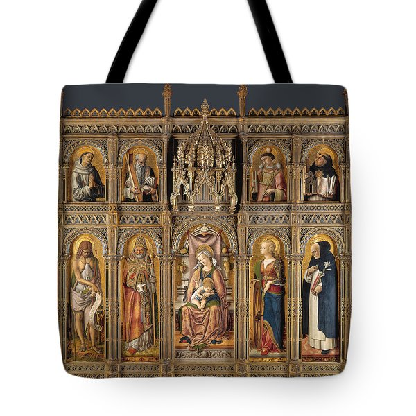 The Demidoff Altarpiece Tote Bag