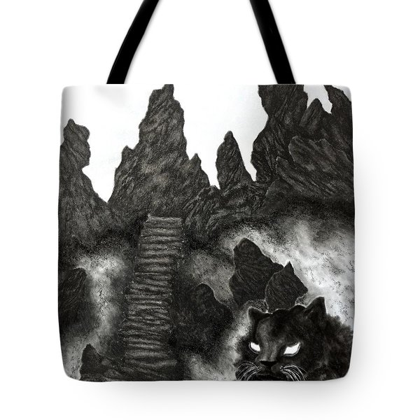 The Demon Cat Tote Bag