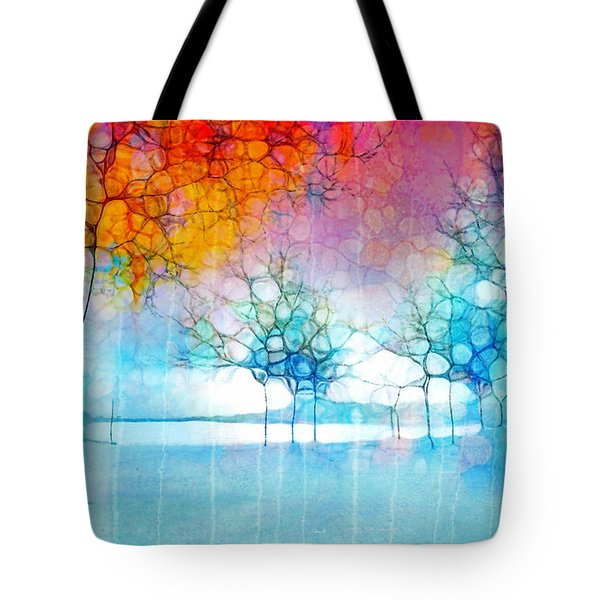 The Departing Trees Tote Bag
