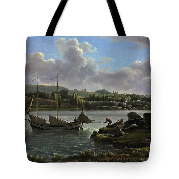 The Departure For The Hunt Tote Bag