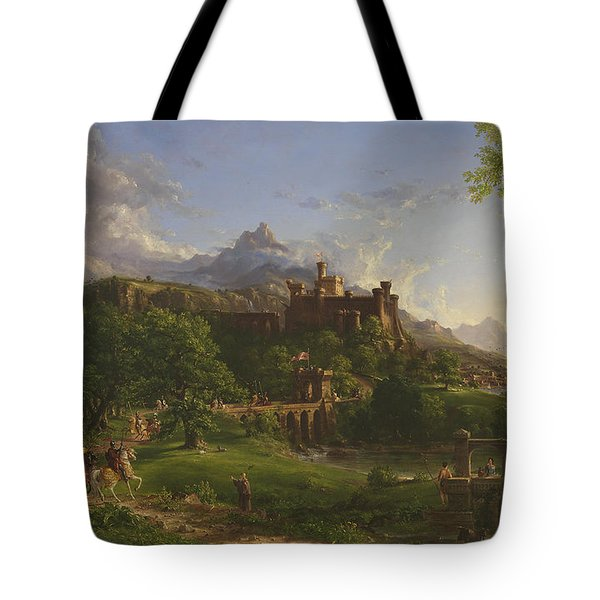 The Departure Tote Bag by Thomas Cole