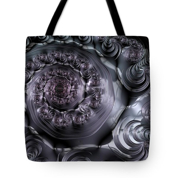 The Depth Of A Spiral Eye Tote Bag