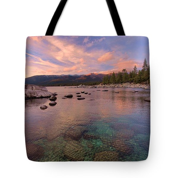 The Depths Of Sundown Tote Bag