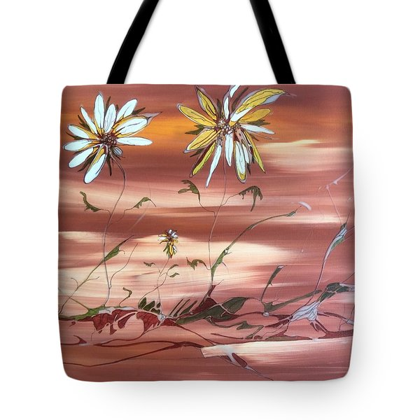 The Desert Garden Tote Bag by Pat Purdy