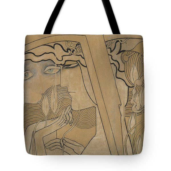 The Desire And The Satisfaction Tote Bag by Jan Theodore Toorop