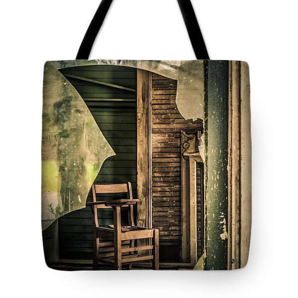 The Desk Tote Bag by Phillip Burrow