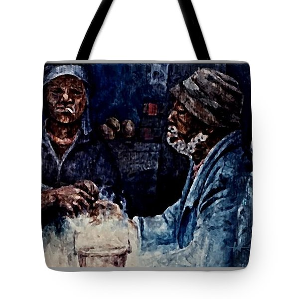 The  Desolation Of Poverty Tote Bag