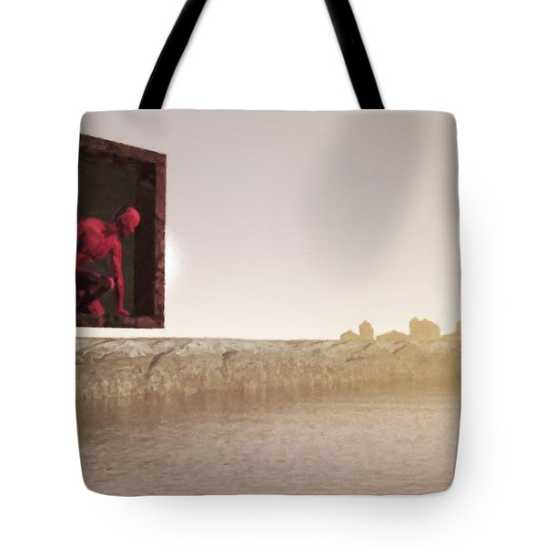 The Destroyer Cometh Tote Bag