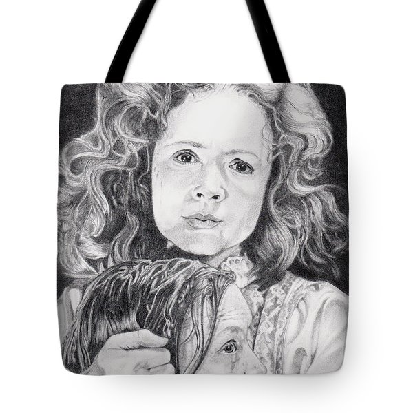 The Devil Has Come Home Tote Bag