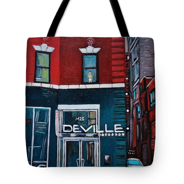 The Deville Tote Bag