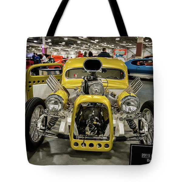 Tote Bag featuring the photograph The Devils Beast by Randy Scherkenbach