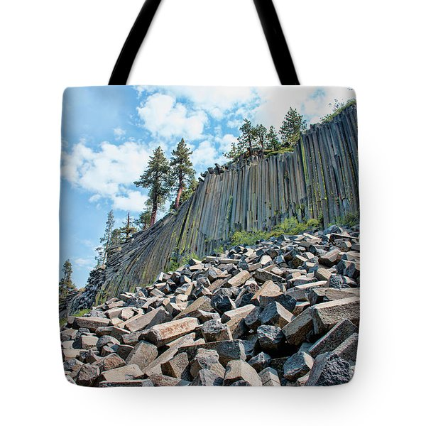 The Devil's Postpile Tote Bag
