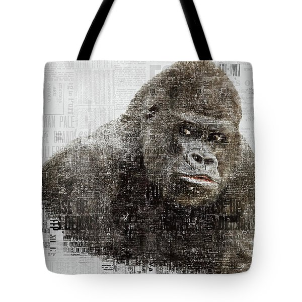 The Dignity Of A Gorilla Tote Bag