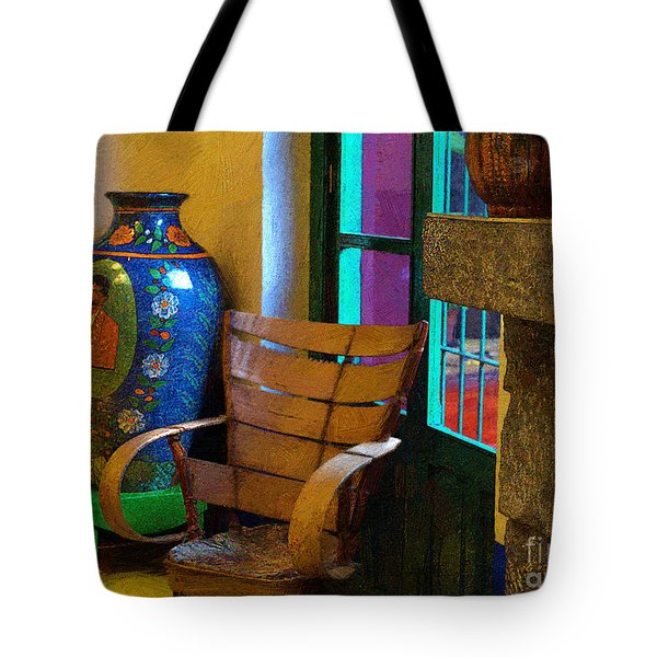 The Dining Room Corner In Frida Kahlo's House Tote Bag