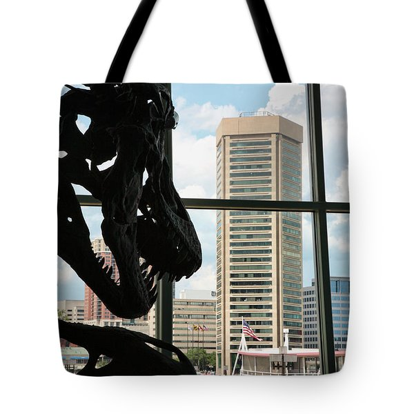 The Dinosaurs That Ate Baltimore Tote Bag