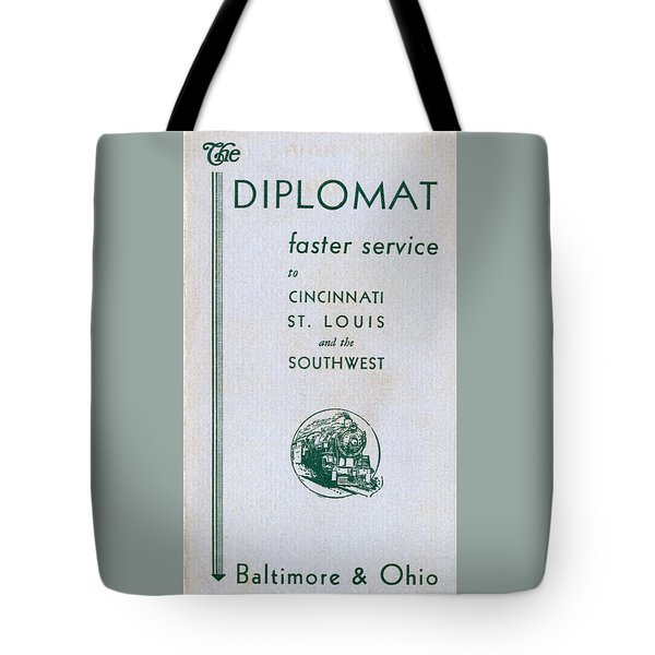 The Diplomat Tote Bag