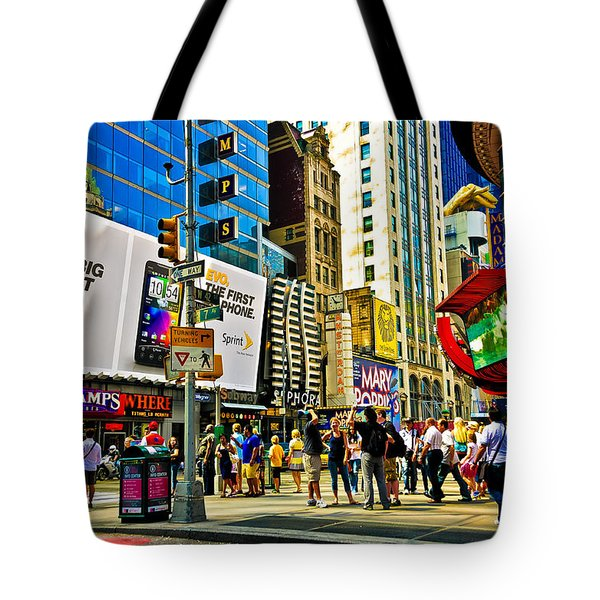 The Dirty Old City -nyc Tote Bag