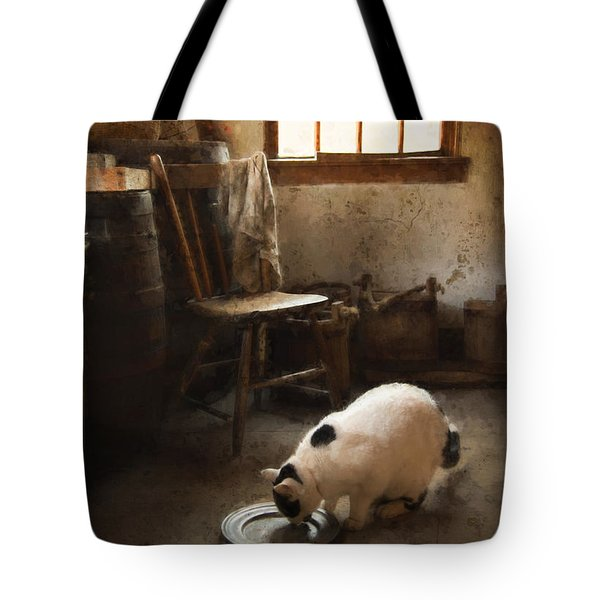 Tote Bag featuring the photograph The Dishwasher by Robin-Lee Vieira