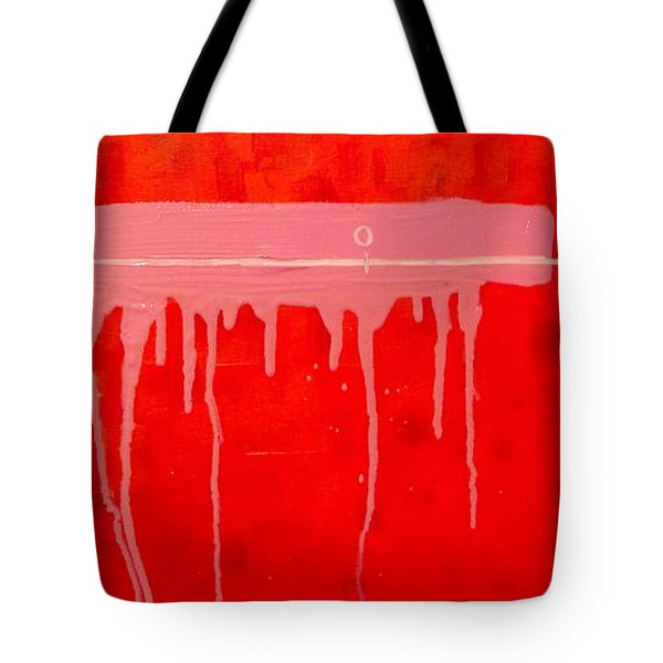 Tote Bag featuring the painting The Distance Between Me And Myself by Ana Maria Edulescu