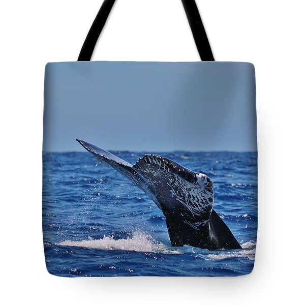 The Dive Tote Bag by Sheila Ping