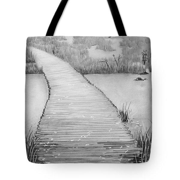 The Divine Path Tote Bag