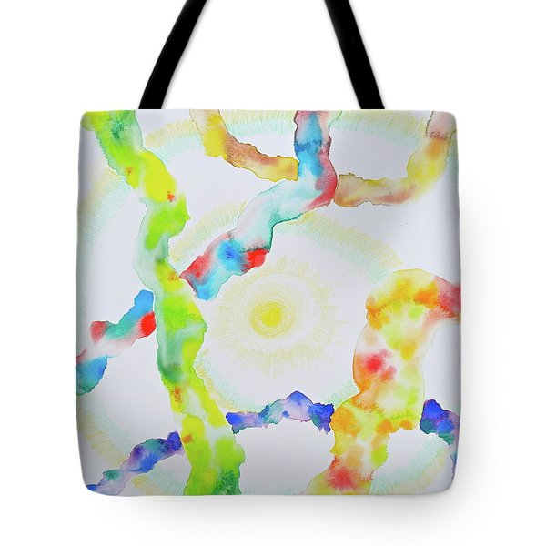 Tote Bag featuring the mixed media The Divine Within by Michele Myers