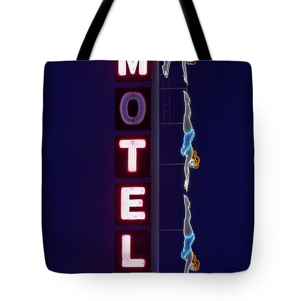 Tote Bag featuring the photograph The Diving Lady Of Mesa, Arizona by Sam Antonio Photography