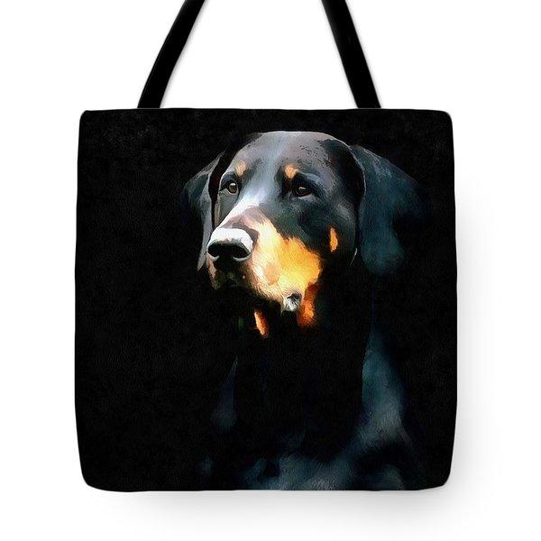 The Doberman Pinscher Tote Bag