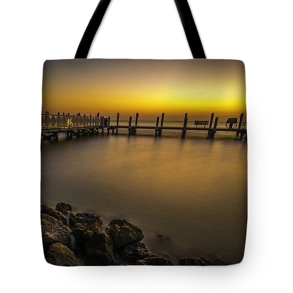 Captiva Sunrise Tote Bag