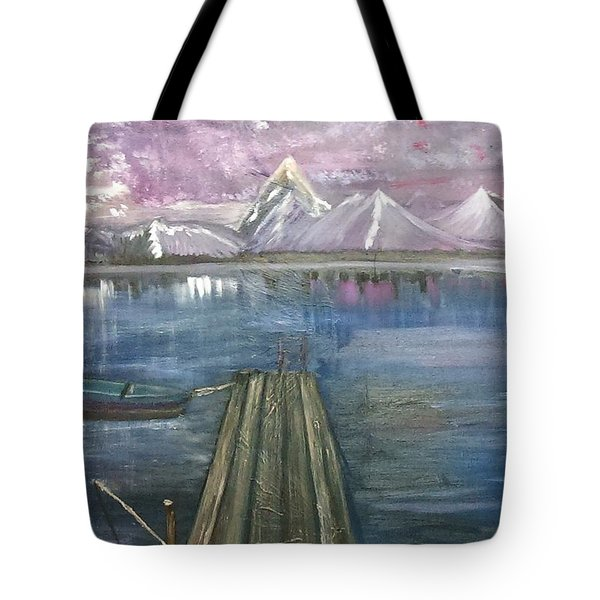 The Dock Tote Bag by Debbie