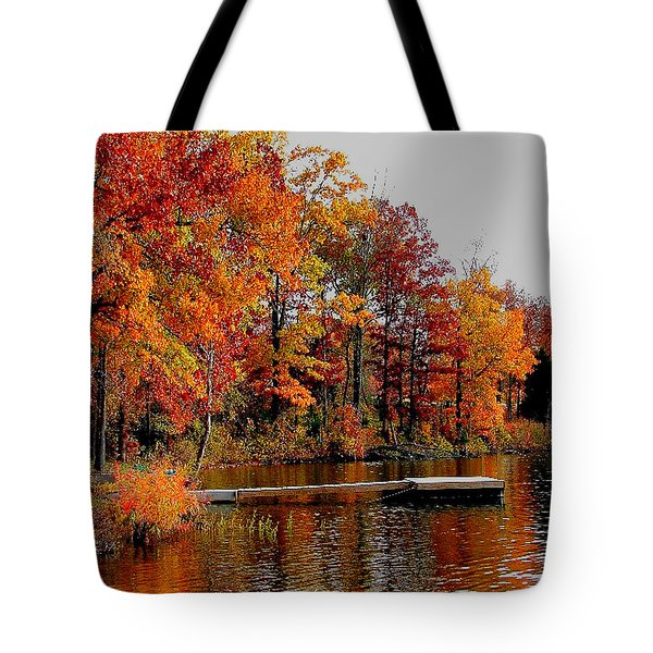 The Dock Tote Bag by Rick Friedle