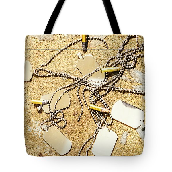 The Dogs Of War Tote Bag