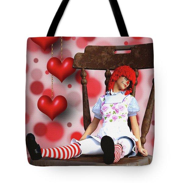 Raggedy Raggedy Tote Bag