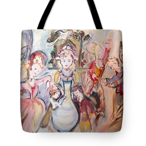 The Dolls Decorate The Toy Factory  Tote Bag