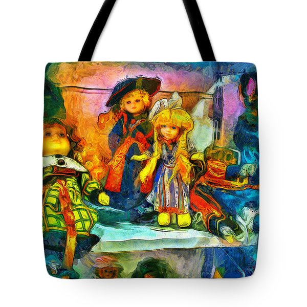 The Dolls Tote Bag