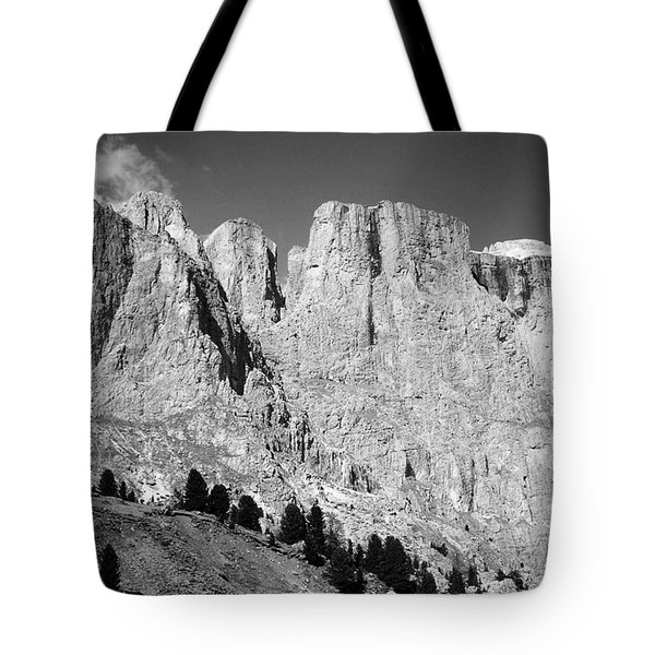 The Dolomites Tote Bag by Juergen Weiss