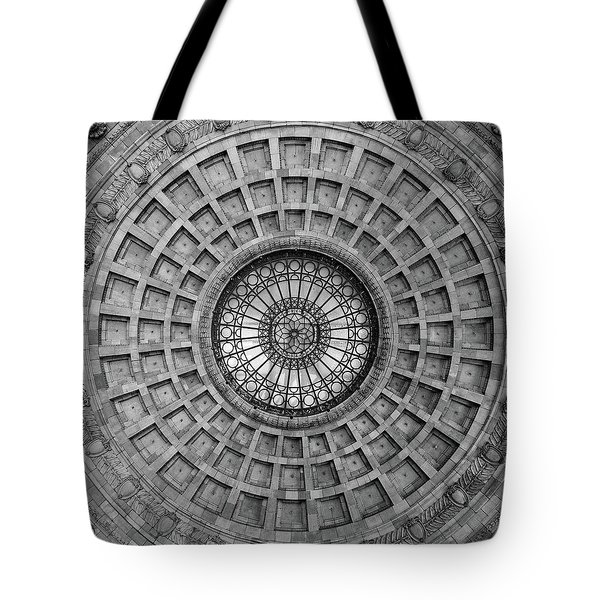 The Dome Bw  Tote Bag