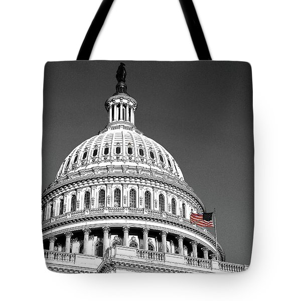 Tote Bag featuring the photograph The Dome by John Schneider