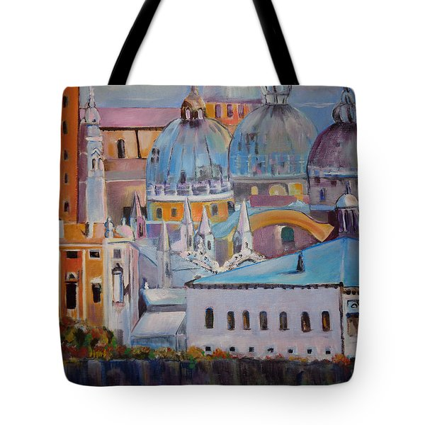 The Domes In Italy Tote Bag
