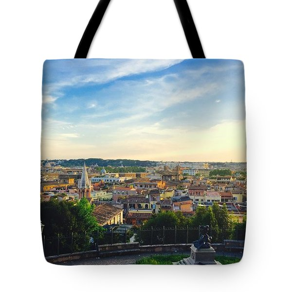 The Domes Of Rome Tote Bag