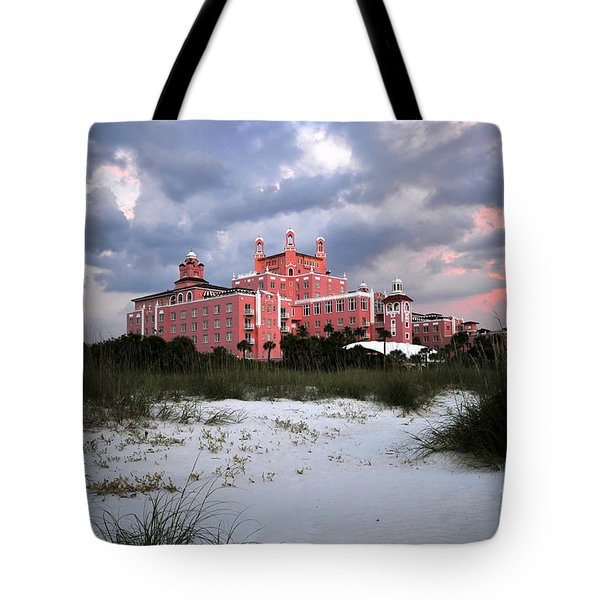 The Don Cesar Tote Bag by David Lee Thompson