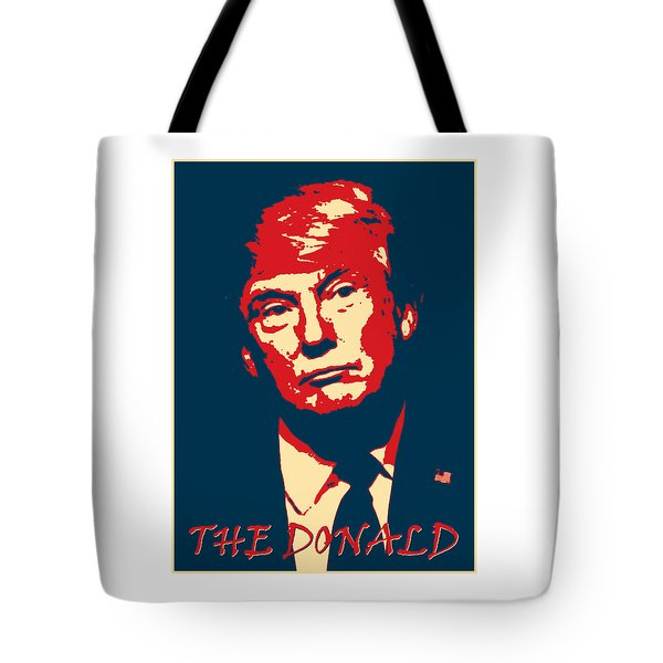 The Donald Tote Bag by Richard Reeve