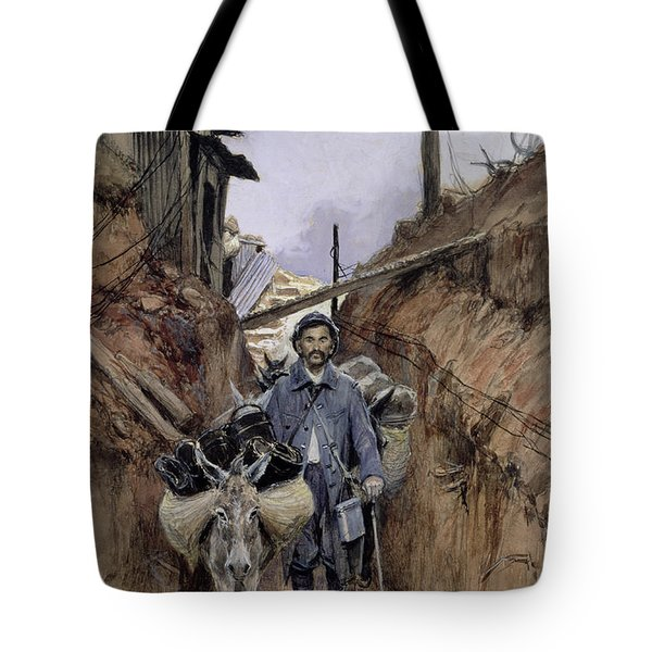 The Donkey Tote Bag by Francois Flameng