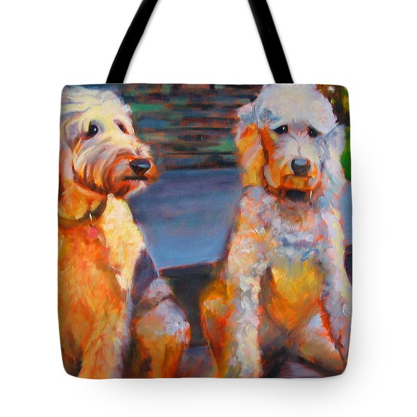 The Doodle Sisters Tote Bag