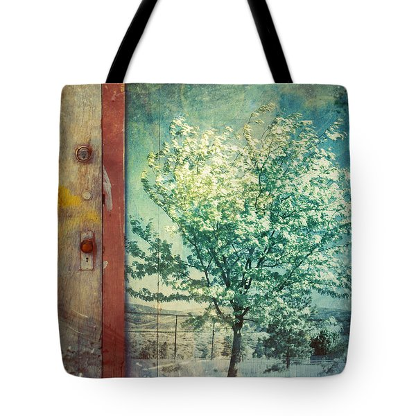 The Door And The Tree Tote Bag by Tara Turner