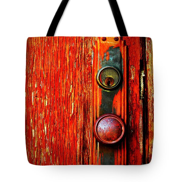 The Door Handle  Tote Bag