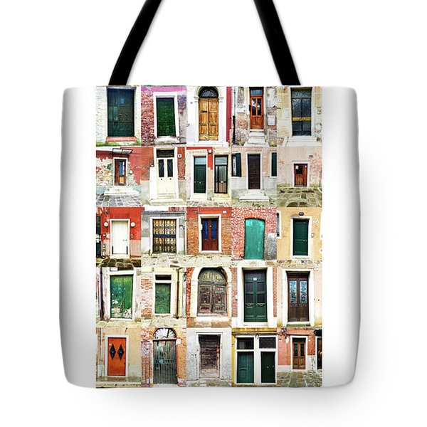 The Doors Of Murano Italy Tote Bag